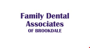Family Dental Associates of Brookdale logo