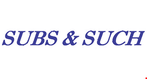 Subs and Such logo