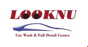 LOOKNU CAR WASH & FULL DETAIL CENTER logo