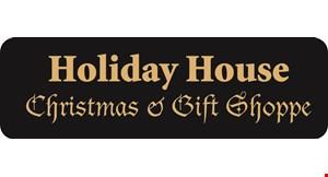 Holiday House Christmas & Gift Shoppe logo