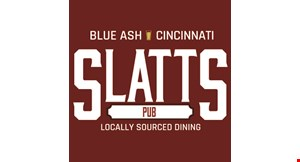 Product image for Slatts Pub $5 off any purchase