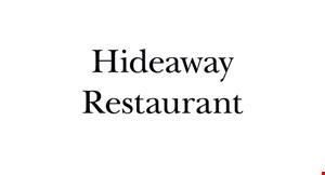 Hideaway Restaurant logo