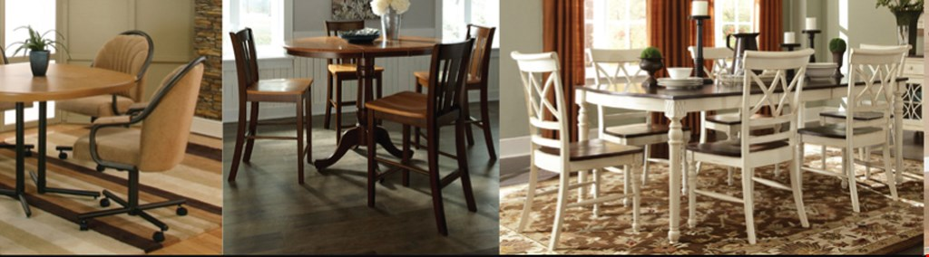 Product image for Creative Dinettes & Barstools $100 off