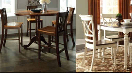 Product image for Creative Dinettes & Barstools $100 off any purchase of $1,000 or more.
