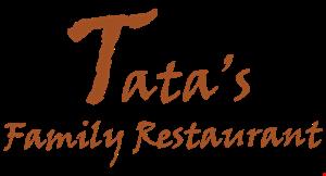 Tata's Family Restaurant logo