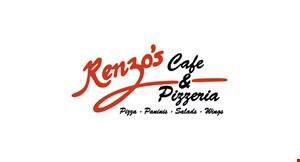 Renzo's Cafe & Pizzeria logo