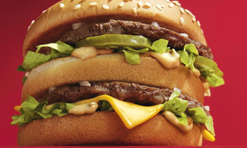 Product image for MCDONALDS Free large sandwich with purchase of any large sandwich.