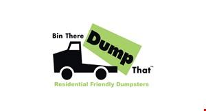 Bin There Dump That - CNY logo