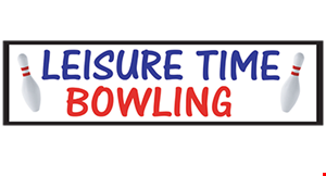 Product image for Leisure Time Bowling $1.50 Per Game per person for up to 4 people