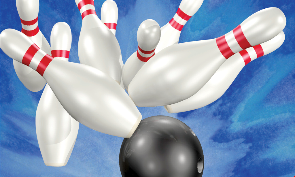 Product image for Leisure Time Bowling FREE BOWLING buy one game, get one free for up to 4 people Not valid on Friday & Saturday nights after 8pm.