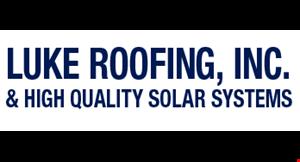 Luke Roofing logo