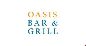 Oasis Bar & Grill logo