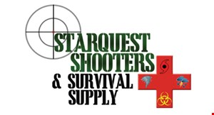 Starquest Shooters & Survival Supply logo