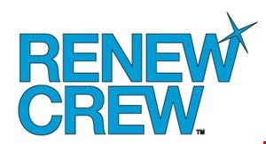 Renew Crew South of  The James logo