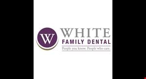 White Family Dental logo