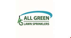 Product image for All Green Lawn Sprinklers $100 off installation