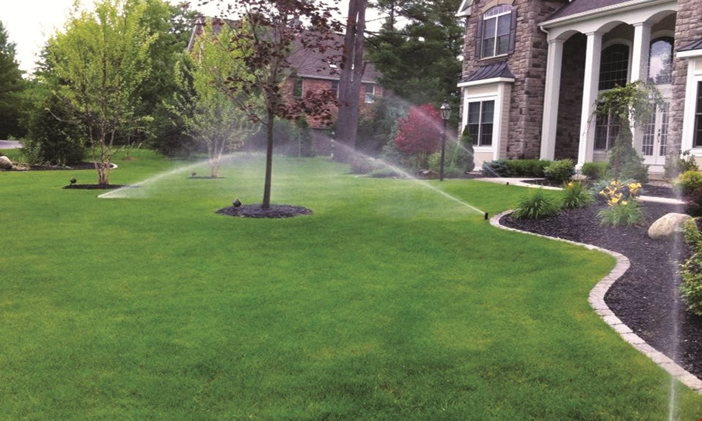 Product image for All Green Lawn Sprinklers $20 off any sprinkler service