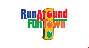 Run Around Fun Town Xl logo