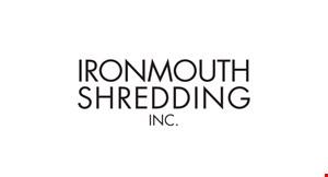 Ironmouth Shredding logo
