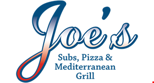 Product image for Joe's Subs, Pizza & Mediterranean Grill $18.99+ tax 2 medium 1-topping pizzas & 2-liter soda