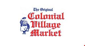 The Original Colonial Village Market logo
