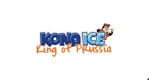 Kona Ice King of Prussia logo