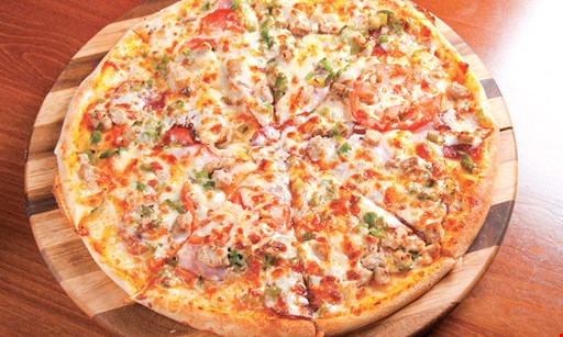 Product image for CARLUCCIS  PIZZA $19.99 2 large cheese pizzas toppings additional.