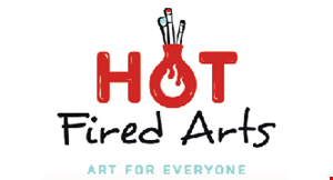 Product image for Hot Fired Arts $20 For $40 Toward Painting, Pottery Or Glass