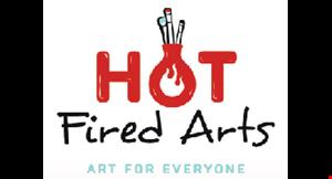 Hot Fired Arts logo