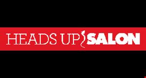 Heads Up Salon logo