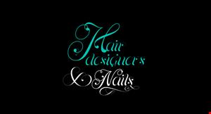 Hair Designer and Nails logo