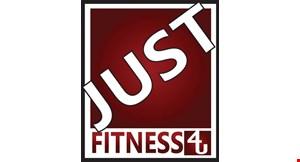 Just Fitness Mandarin logo
