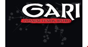 Gari Japanese Fusion Bistro logo