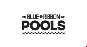 Blue Ribbon Pools, Inc. logo