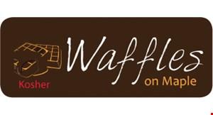 Waffles on Maple logo