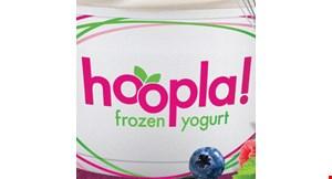 Hoopla Frozen Yogurt logo
