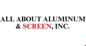 All About Aluminum & Screen logo
