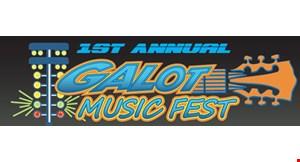 Galot Music Fest at Galot Motor Sports Park logo