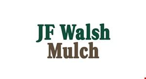 JF Walsh Mulch logo