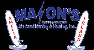 Mason's Refrigeration A/C & Heating  Inc logo