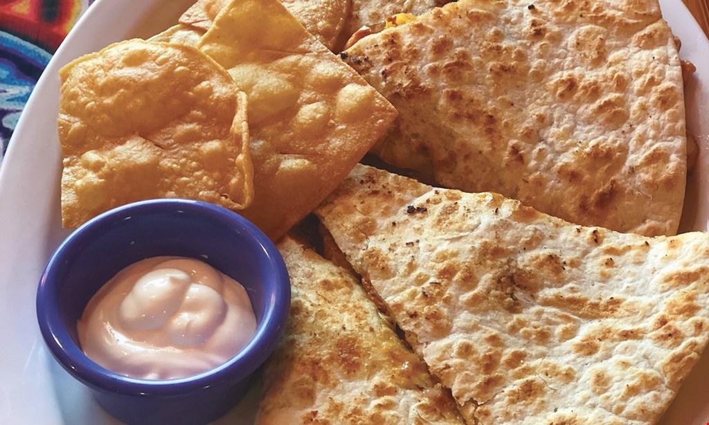 Product image for Los Tacos FREE chicken quesadillas
