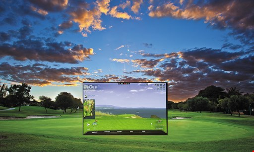 Product image for Bay Meadows Golf Club $5 OFF one hour of golf simulator