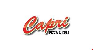 Capri Pizza & Deli logo