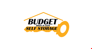 Budget Store & Lock Self Storage logo