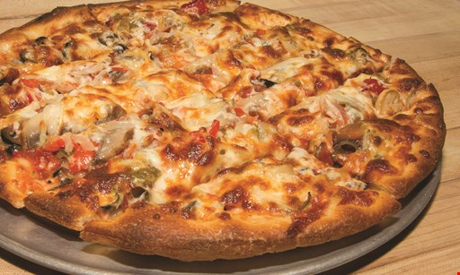 Product image for Twin  Trees Baldwinsville $3 OFF ANY LARGE PIZZA AT REGULAR PRICE.