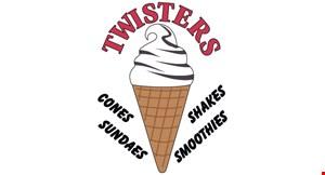 Twisters Ice Cream logo