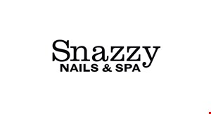 Snazzy Nails & Spa logo