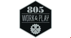 805 Work & Play logo