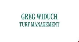 Greg Widuch  Lawn logo
