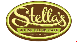 Product image for Stella's House Blend Cafe $10 For $20 Worth Of Breakfast, Lunch, Coffee & More